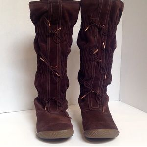 Sorel Suede Boots 6. Firenzy Tall suede Waterproof